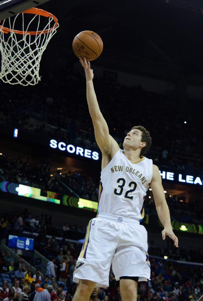 Jimmer Fredette could return to Pelicans if hardship approved _lowres
