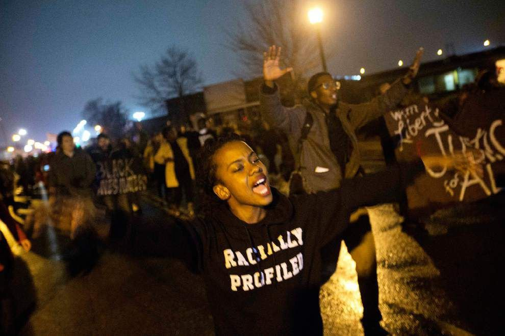 Rallies planned across US before Ferguson decision _lowres