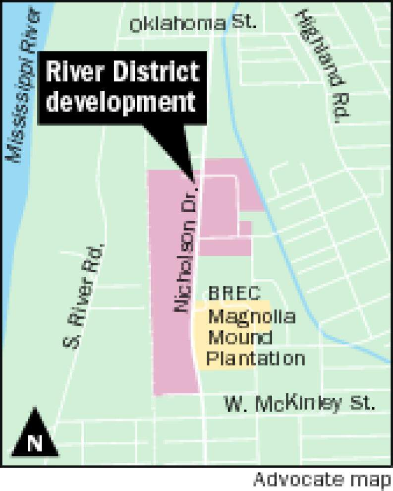 Judge orders seizure of Nicholson Drive site of proposed River District mixed-use development _lowres