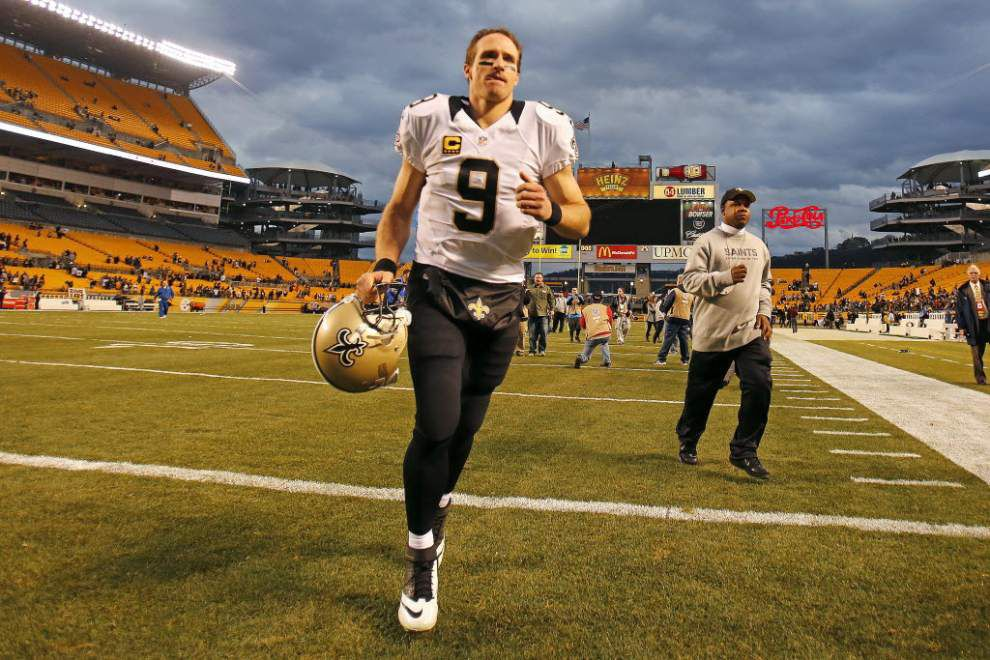 After further review...Drew Brees says he knows his goal of playing until he's 45 might be 'overzealous' _lowres