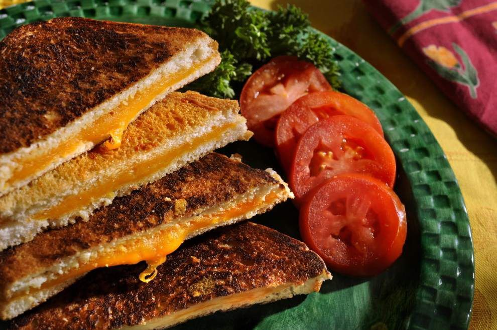 Grill of your dreams: It's National Grilled Cheese Sandwich Day _lowres