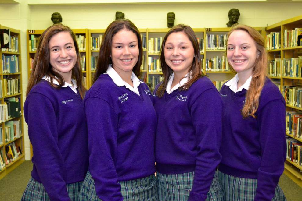 Chapelle volleyball players honored for academic excellence _lowres