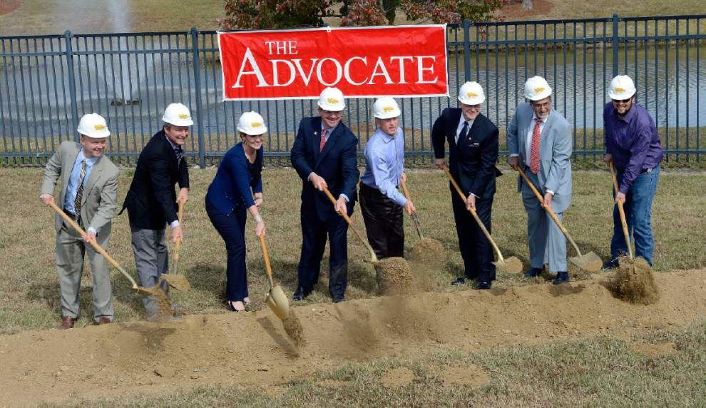 The Advocate starts construction on new headquarters building _lowres