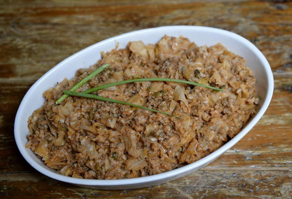 Unstuffing cabbage rolls makes a savory casserole _lowres