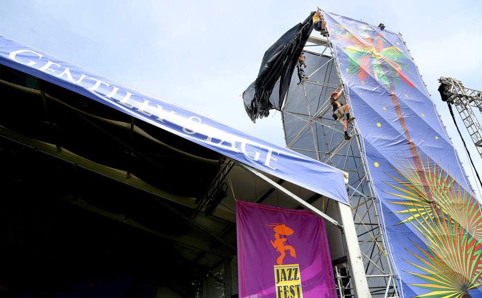 Photos: Setting the scene for Jazz Fest _lowres