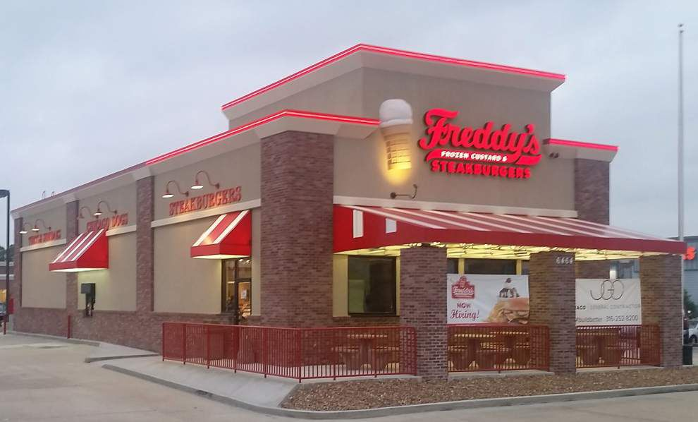 'Thinly pressed steakburger,' creamy frozen custard sound good? Freddy's opens Sunday in Baton Rouge _lowres