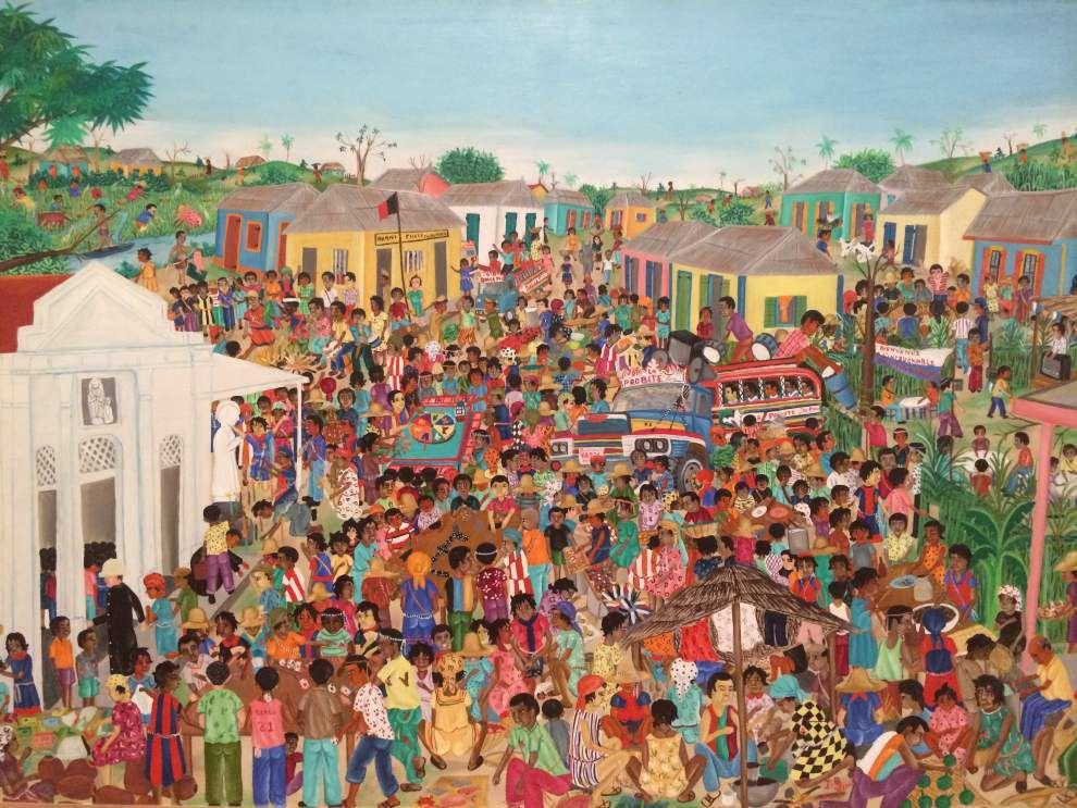 LSU Museum of Art celebrates Haitian culture through art exhibit _lowres