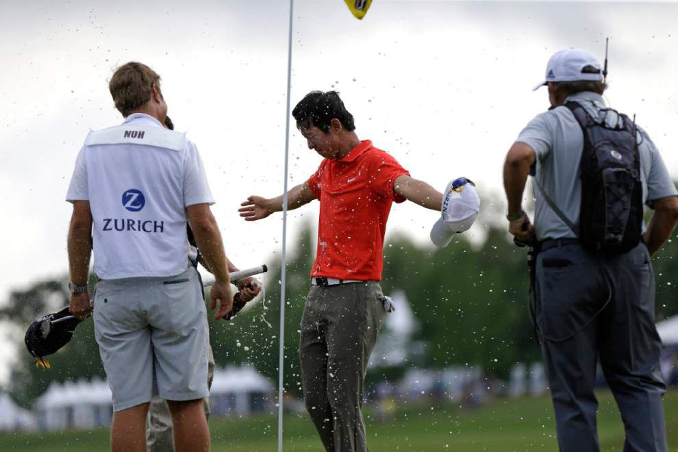 Noh's win at Zurich Classic results in a variety of headlines _lowres