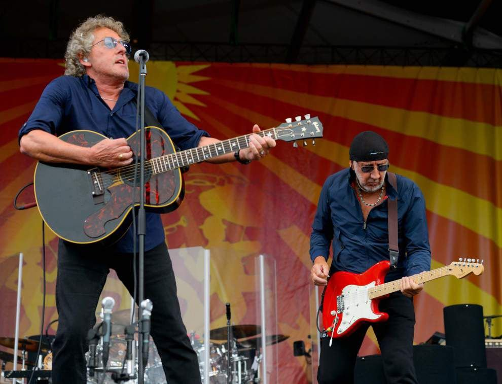 Photos: The Who, John Legend, Juvenile beat the rain, please the crowds on Jazz Fest's Day 2 _lowres