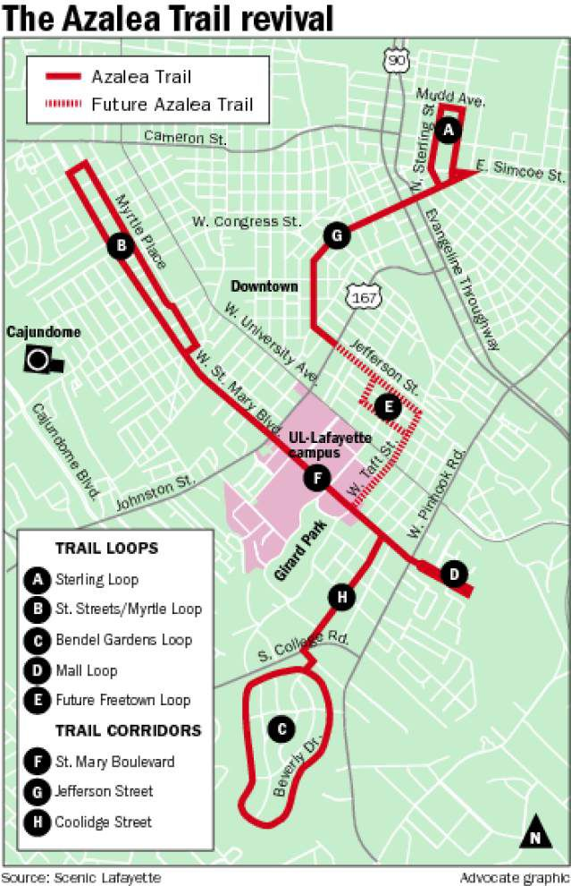 Lafayette group seeks to put Azalea Trail back on the map for tourists, flower lovers _lowres