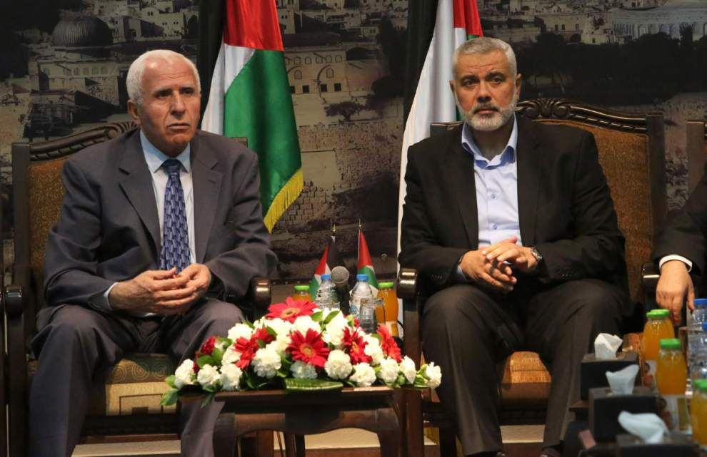 Palestinian government draws threats from Israel _lowres