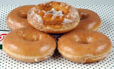 Free food! Baton Rouge Krispy Kreme wants to trade you doughnuts for spare beads _lowres