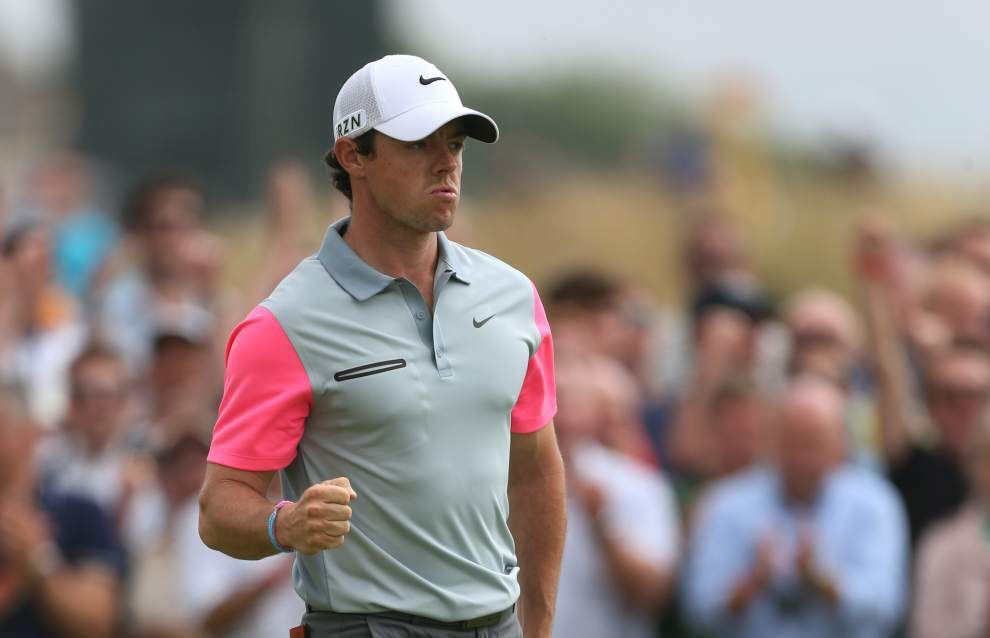 Rory McIlroy wins the British Open _lowres