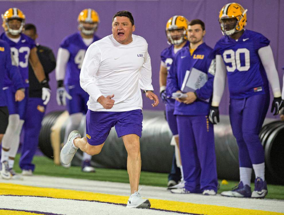 More than thick Cajun accent, LSU's Ed Orgeron brings sack-focused system full of schematic changes _lowres