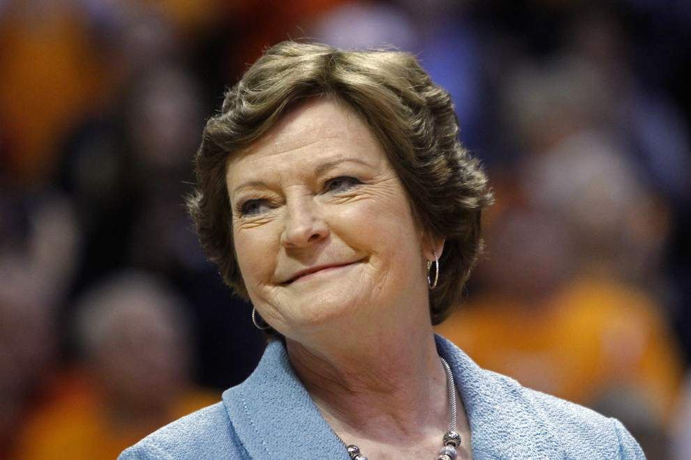 Former Tennessee coach Pat Summitt has 'difficult' past few days as Alzheimer's progresses, family says _lowres