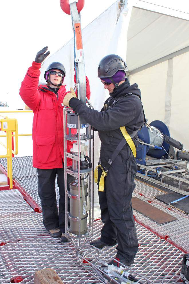 LSU associate professor on team studying life in Antarctic lake _lowres