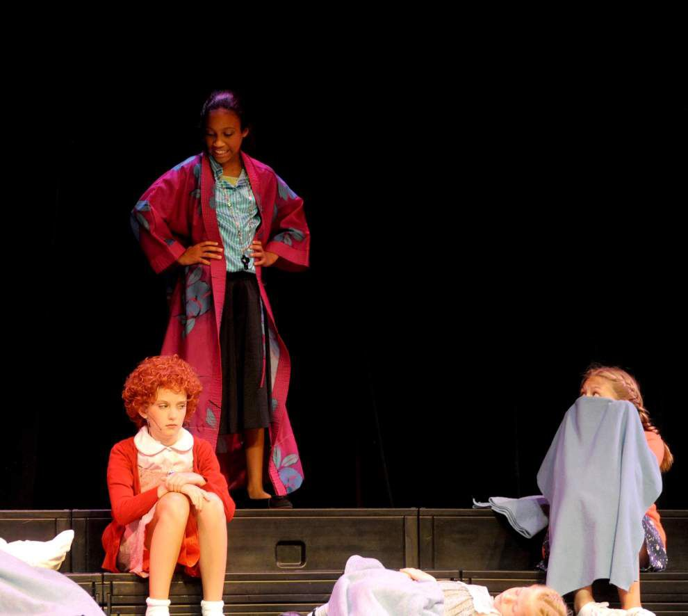 Young stars come out for 'Annie Kids' camp _lowres