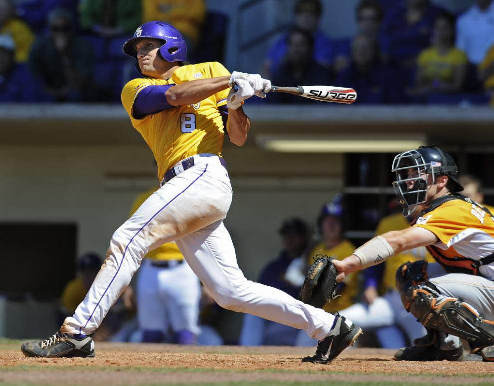 With call to big leagues, ex-LSU standout Mike Mahtook fulfills dream he's had since 'my mom would hit me fly balls in the front yard' _lowres