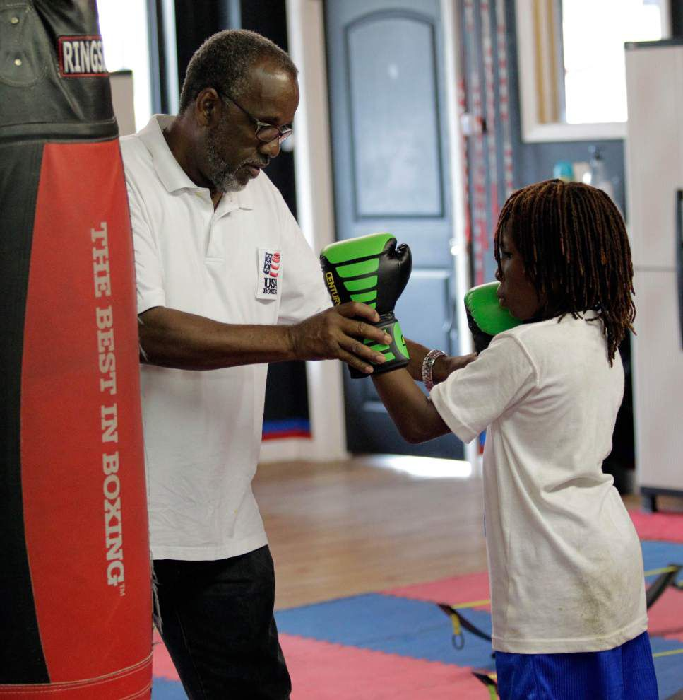 All for the kids: Coach James Joseph thrilled to be in charge of hosting USA Boxing Junior Olympics regional championship _lowres