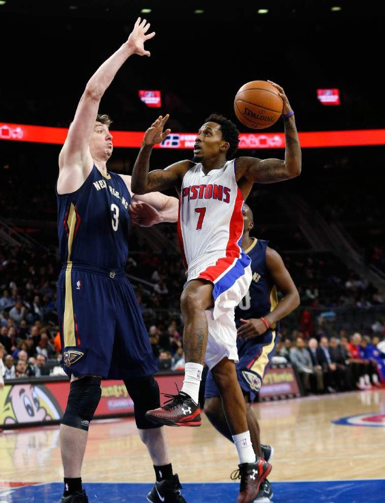 Pelicans cool off hot Pistons _lowres