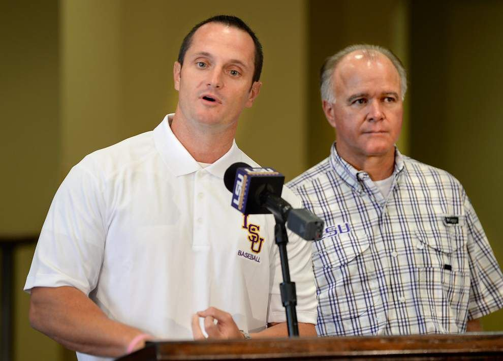 Video: LSU welcomes hitting coach/recruiting coordinator Andy Cannizaro _lowres