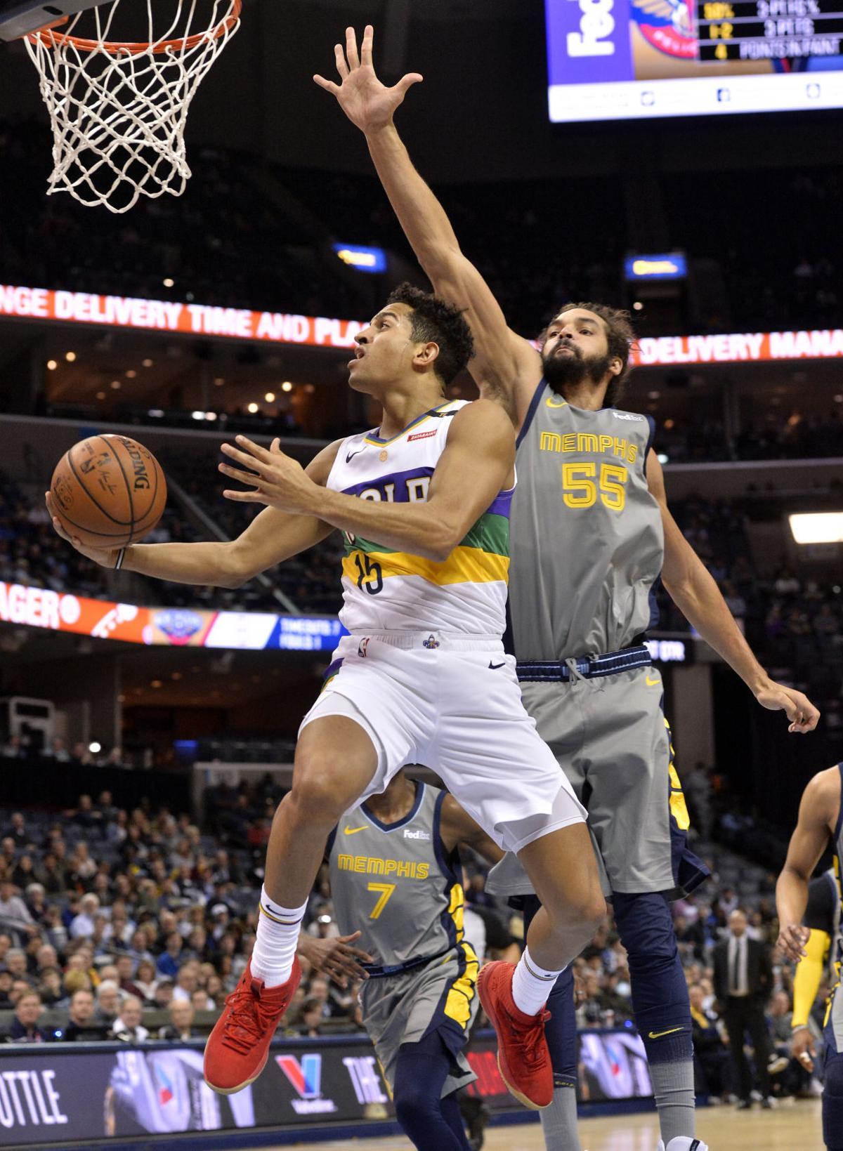 Pelicans Grizzlies Basketball