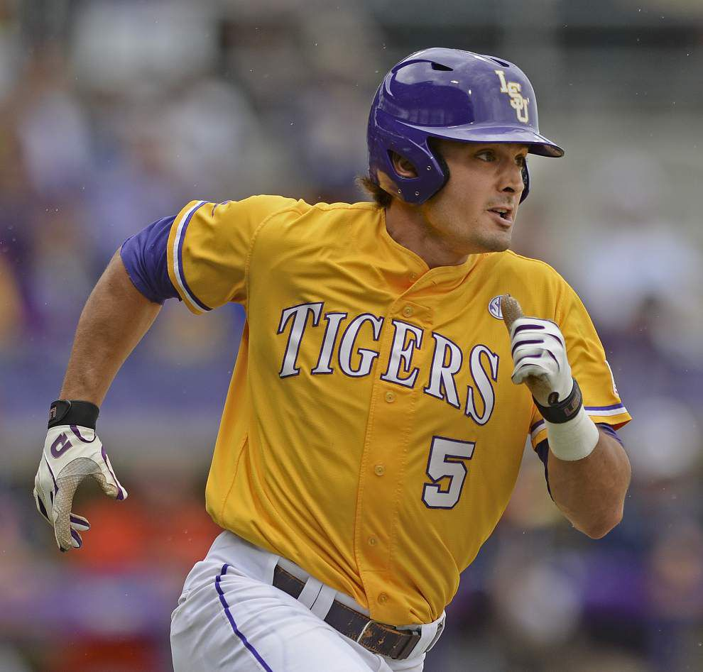 Former LSU outfielder Chris Sciambra to try out for kicker on Nicholls State football team _lowres