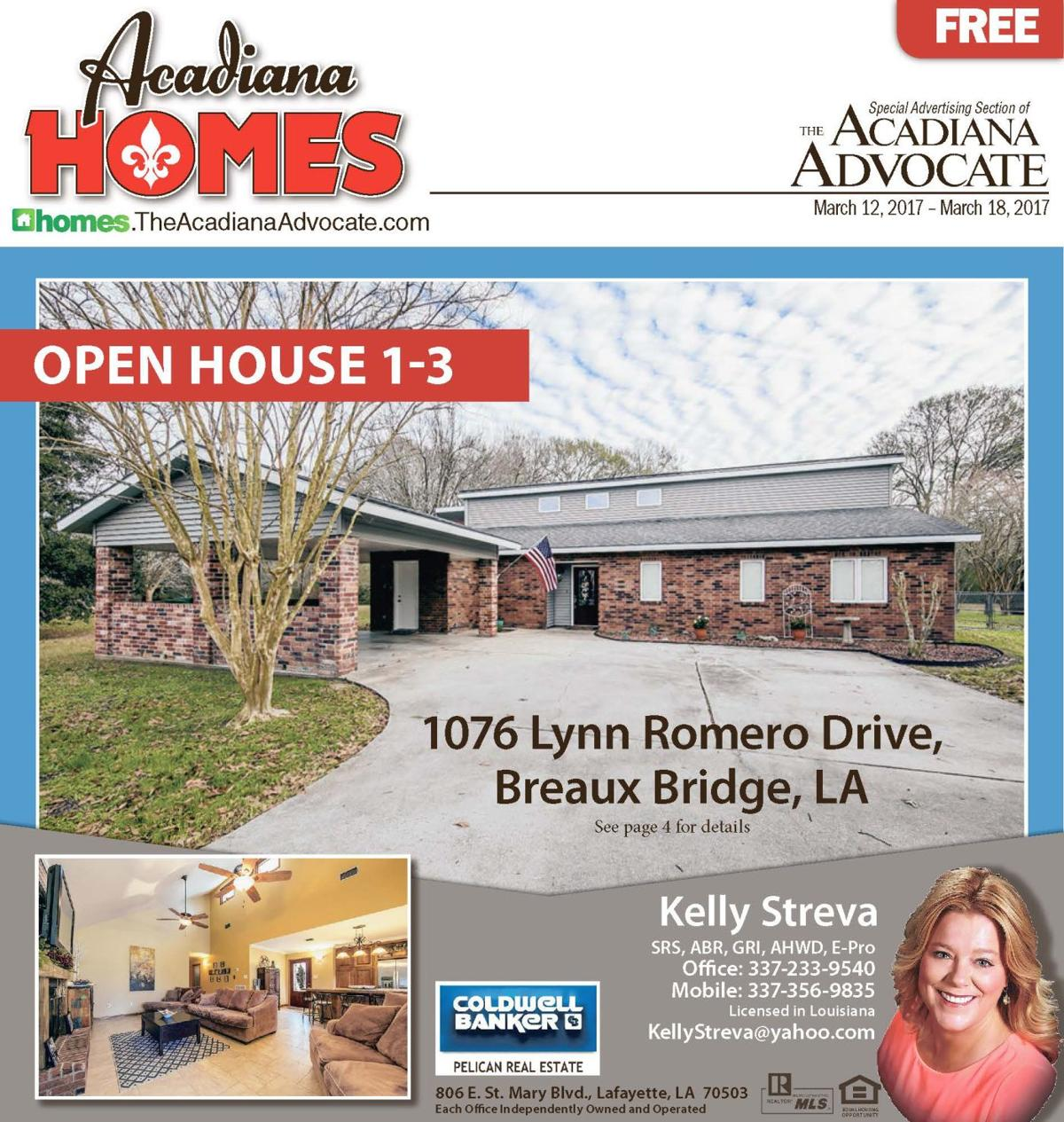 Cover Acadiana Homes 03-12-2017