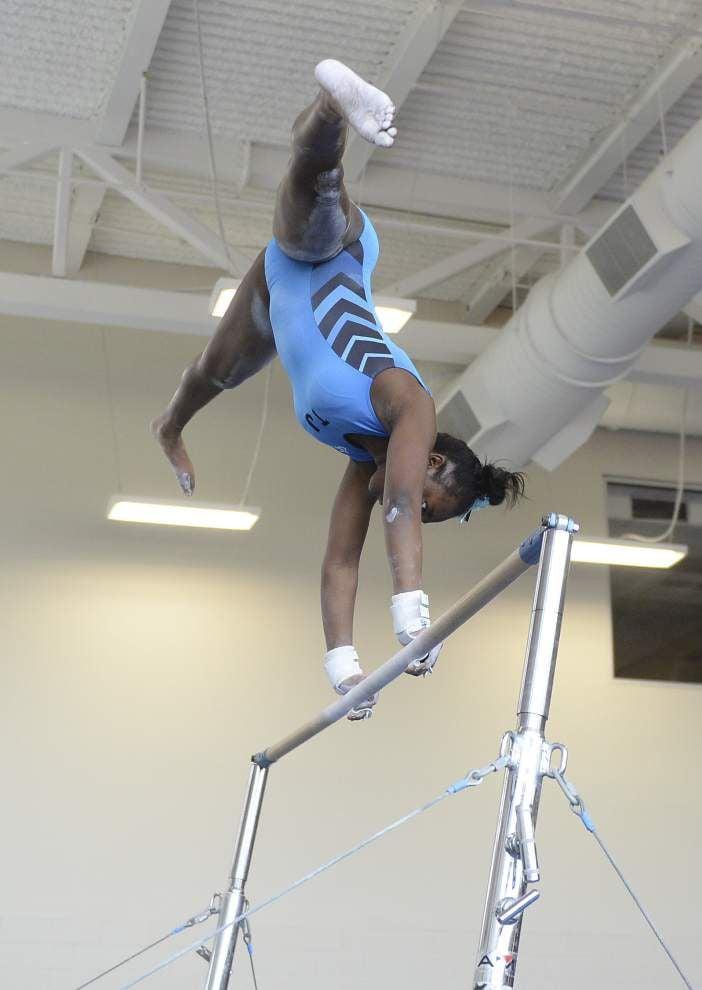 Gymnastics titles go to Caddo Magnet, Episcopal's Patrick _lowres