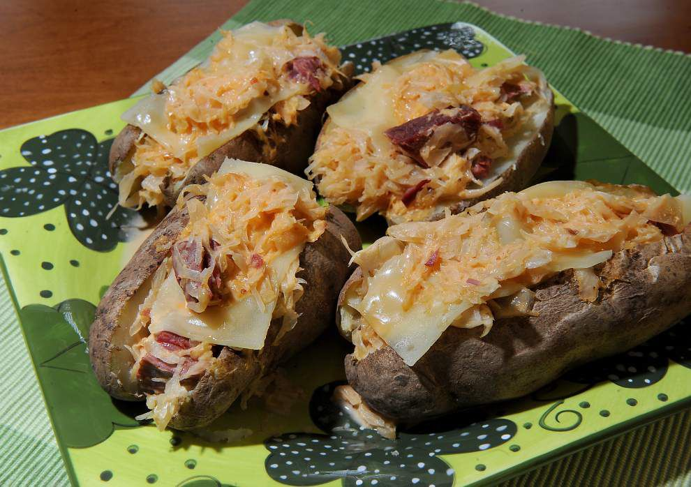 What a Crock!: Stuff St. Patrick's Day leftovers in potatoes _lowres