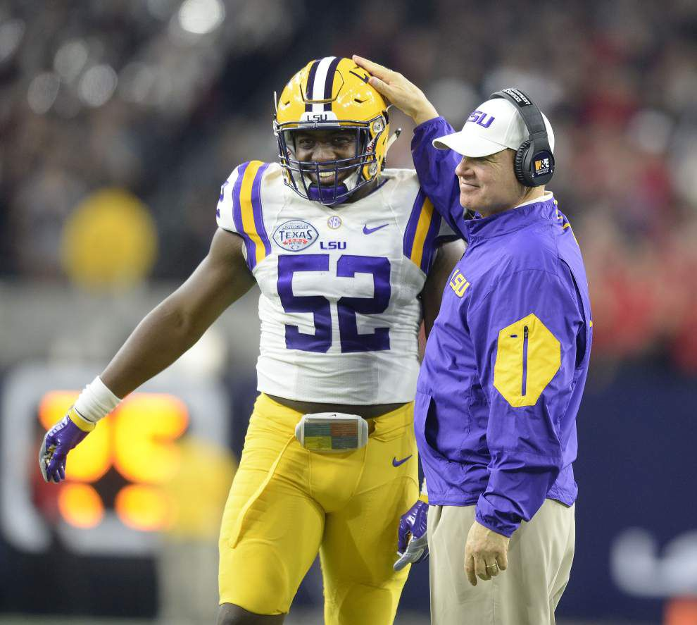 LSU enters busy off-season: From re-recruiting to coordinator search and unresolved contract issue _lowres