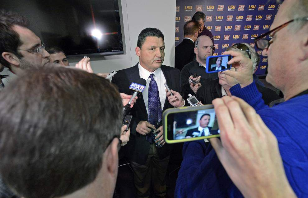 LSU hires Ed Orgeron, Kevin Steele as football assistant coaches _lowres