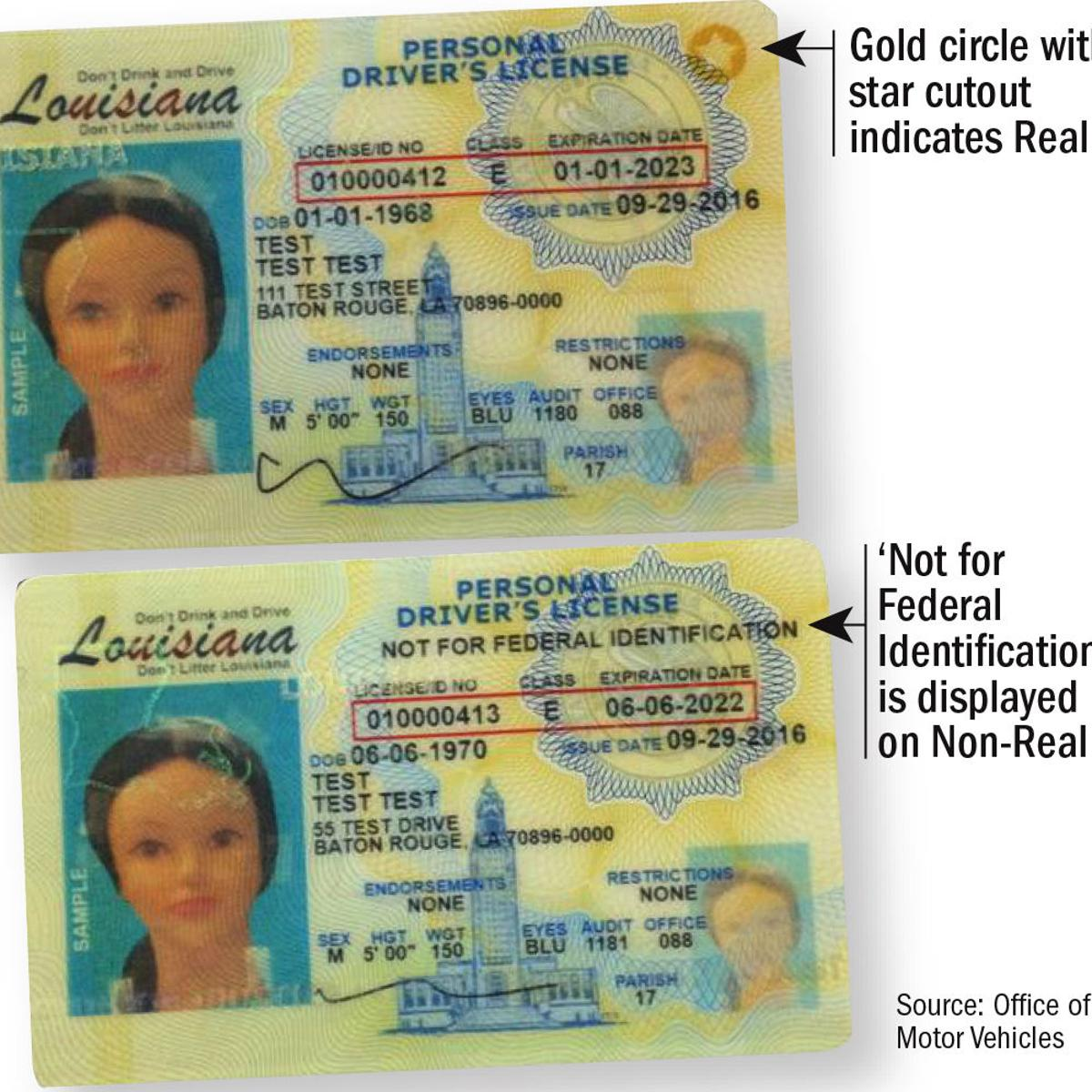 Louisiana Begins Issuing Real Id Driver S Licenses What To Know How To Get One Legislature Theadvocate Com