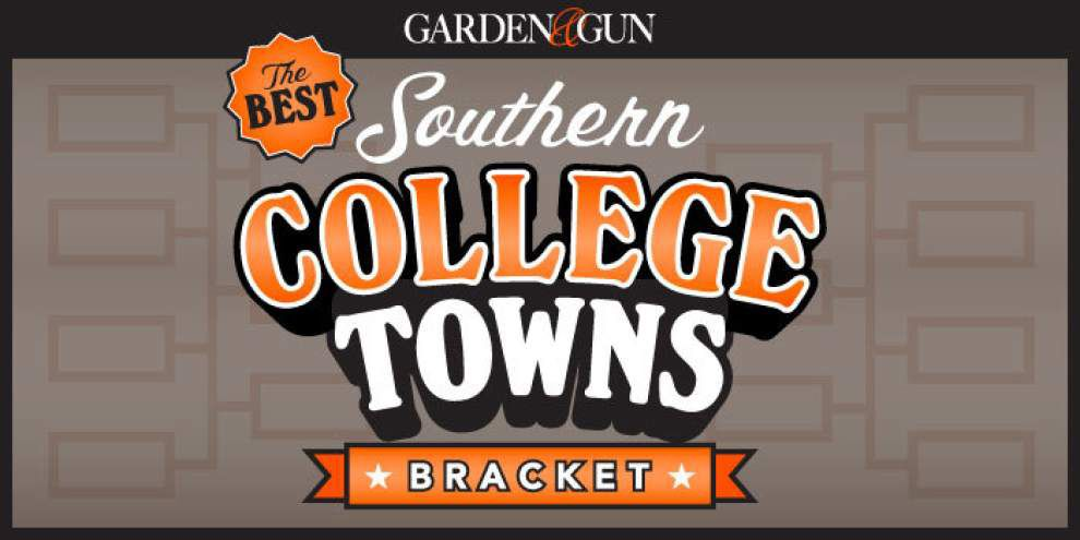 Every vote counts: Baton Rouge among final four 'best southern college towns' in March Madness-style bracket _lowres