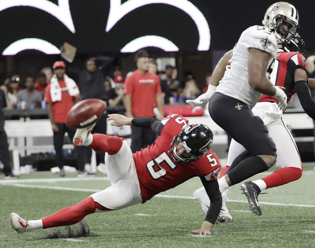 For Saints, another blocked punt vs. Falcons -- even if ...