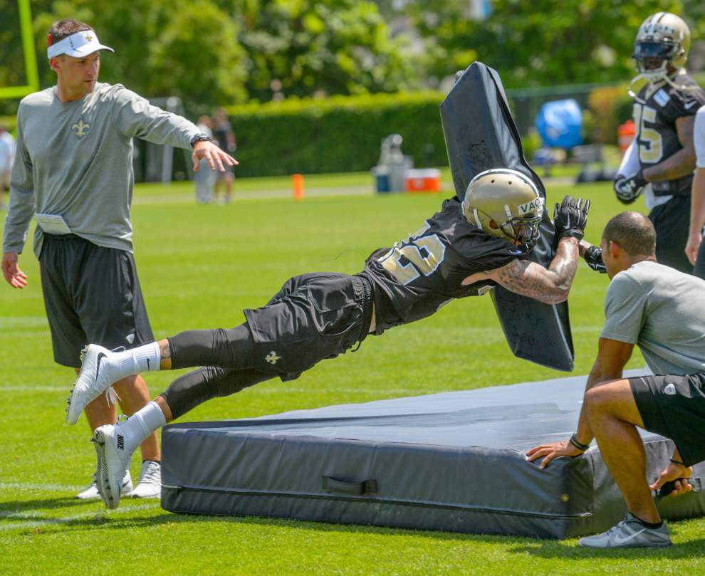 Saints' Kenny Vaccaro is getting the fire back _lowres