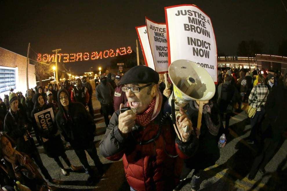 Communities across the nation voice reactions to Ferguson decision _lowres