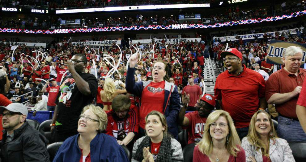 Photos: High-flying dunks, jubilation, tearful Monty Williams all part of New Orleans Pelicans' historic night _lowres