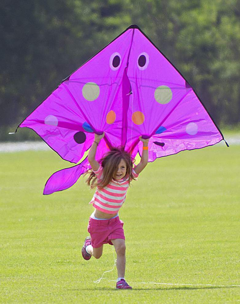 Photos: 'Lets go fly at kite'...at Kite Festival Louisiane in Port Allen _lowres