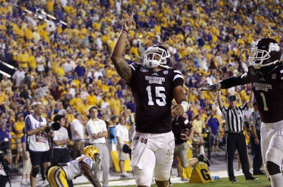 Mississippi State 34, LSU 29: Three and out _lowres