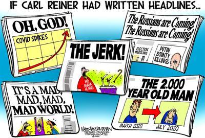 Walt Handelsman: If Carl Reiner Had Written Headlines