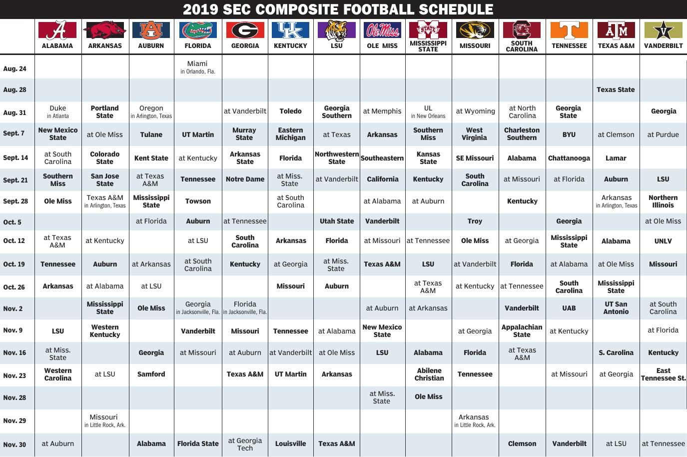 graphic about Printable College Football Schedules called School Soccer Program #30258 (29) - Printable Faculty