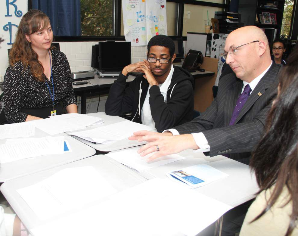 Humanities focused program at McKinley High in Baton Rouge shows promise _lowres