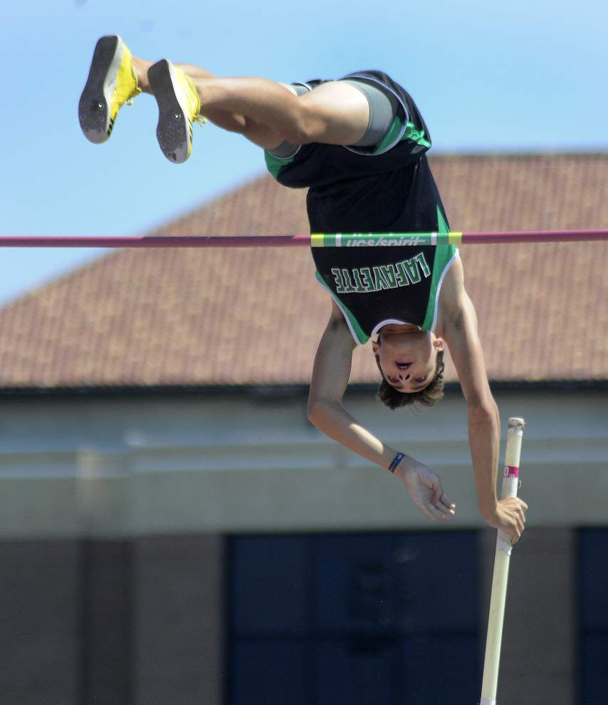 State track meet: Lafayette High's Armand Duplantis sets composite record in pole vault; Cecilia boys win Class 4A crown _lowres