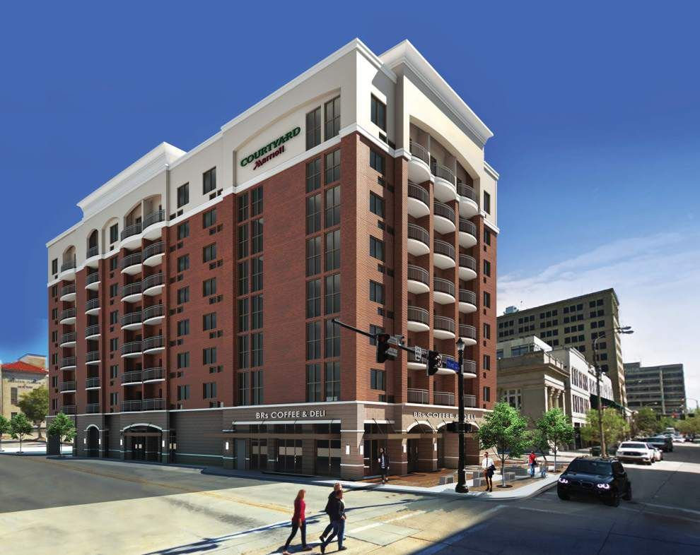 Courtyard By Marriott Lifts Downtown Baton Rouge Above 1 000 Rooms Lowres