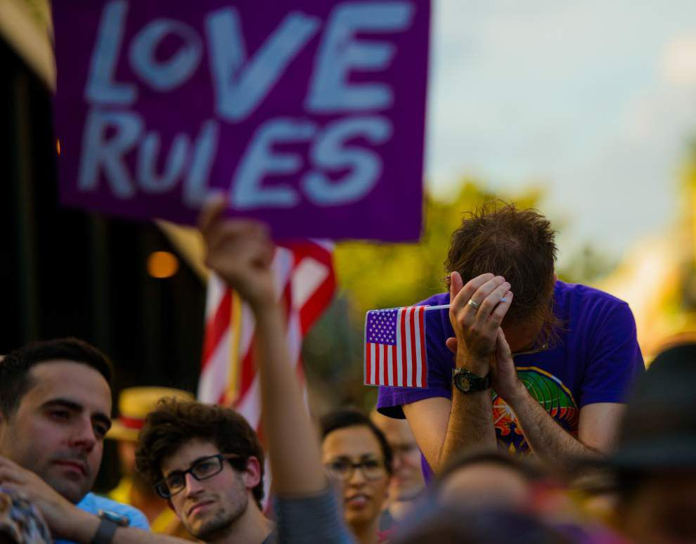 Same-sex marriage might remain in limbo in Louisiana as 5th Circuit considers case _lowres