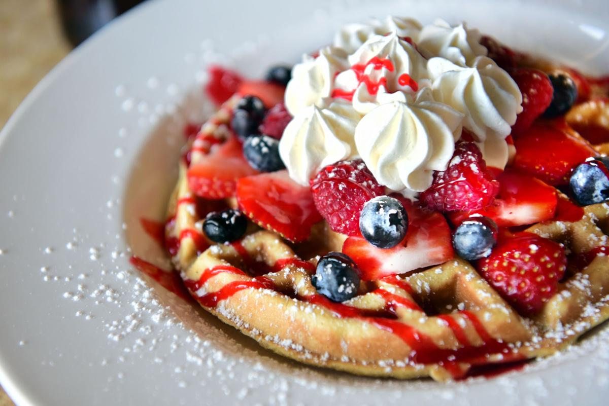 Twisted Waffles Burst of Berries
