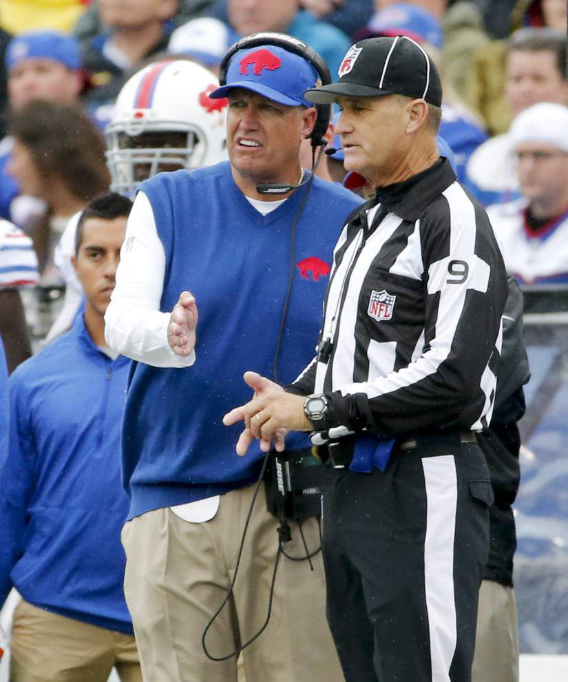 This Week in the NFL: Bills look to limit Rob Gronkowski _lowres