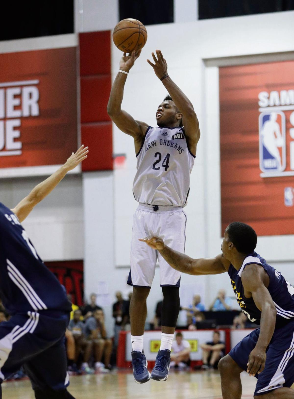 Jazz Pelicans Basketball