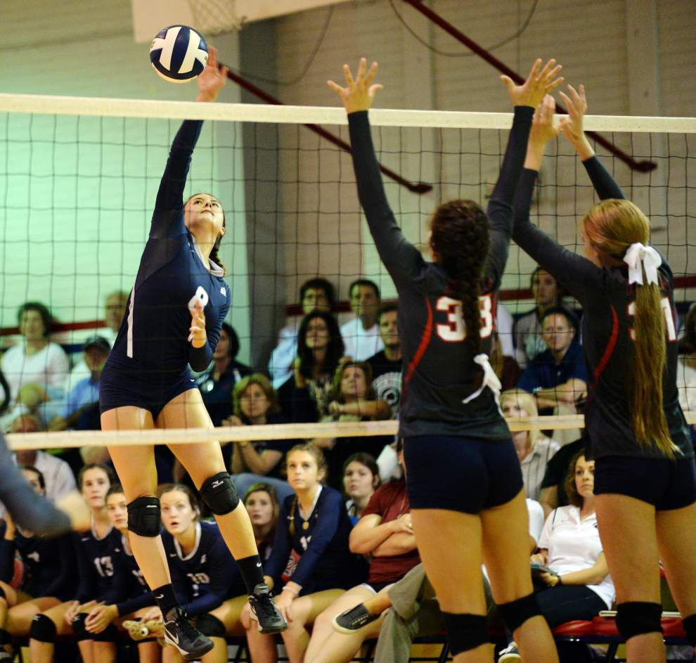 Acadiana area teams carry volleyball state title aspirations _lowres